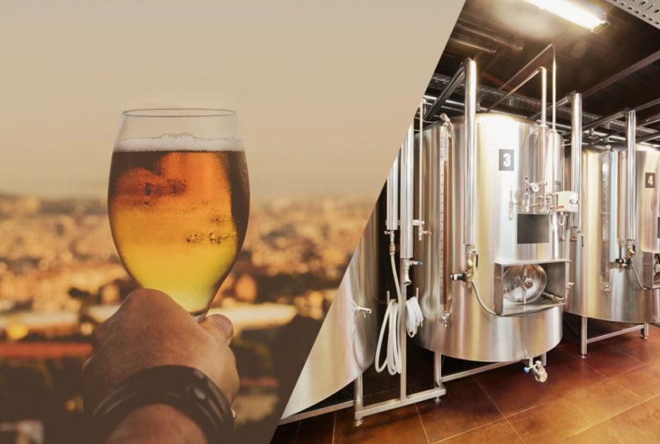 La industria alimenticia emplea la filtración en la producción de bebidas como cervezas.